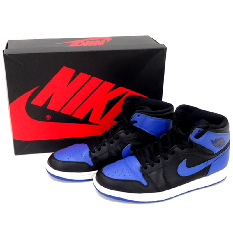 NIKE '2013'ROYAL AIR JORDAN 1 RETRO HIGH OG/28cm/スニーカー/靴 シューズ【山城店】