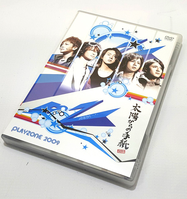 PLAYZONE2009 太陽からの手紙  出演:Kis-My-Ft2 Question? キスマイ 形式: DVD