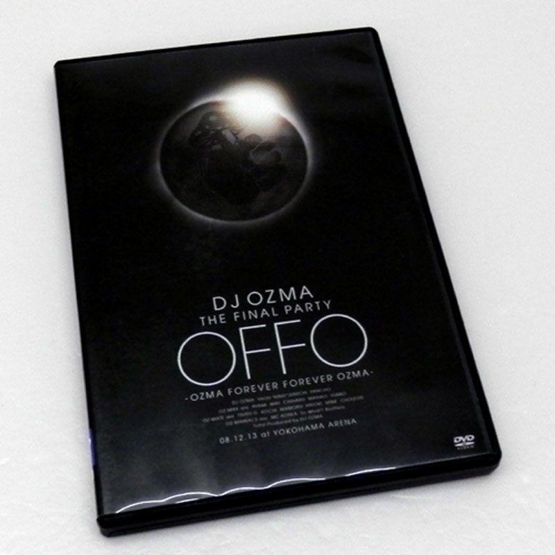 "DJ OZMA THE FINAL PARTY ""OFFO"" -OZMA FOREVER FOREVER OZMA-/邦楽 DVD【山城店】"