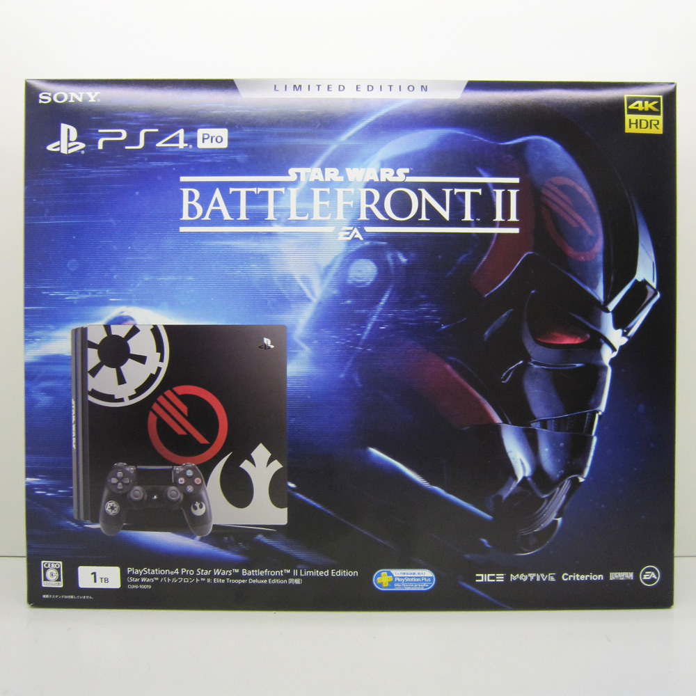 SONY PlayStation 4 Pro Star Wars Battlefront II Limited Edition スター・ウォーズ  バトルフロント 2 PS4