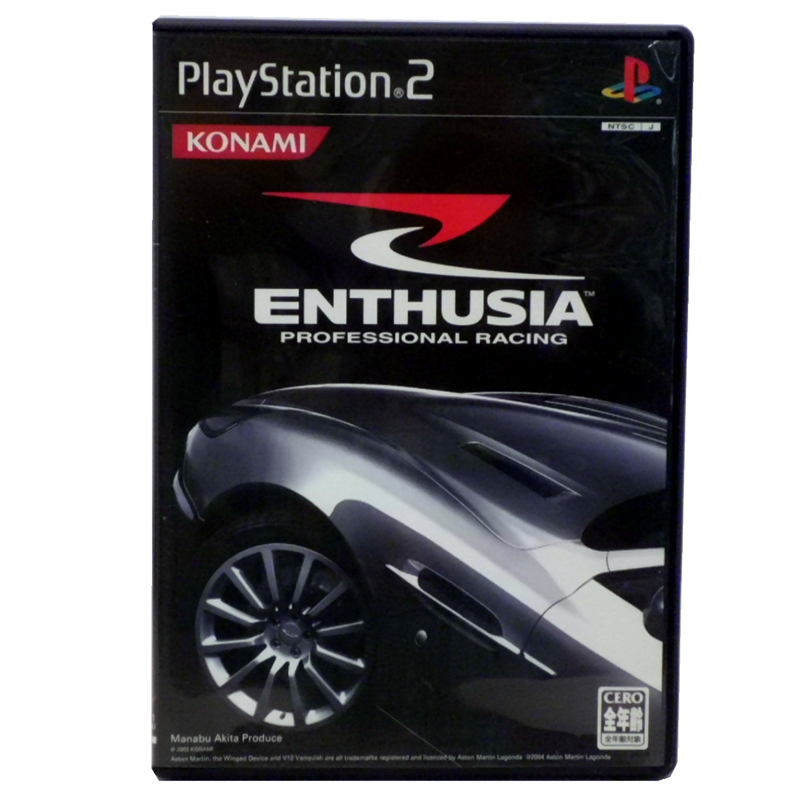 コナミ PS2 ENTHUSIA PROFESSIONAL RACING