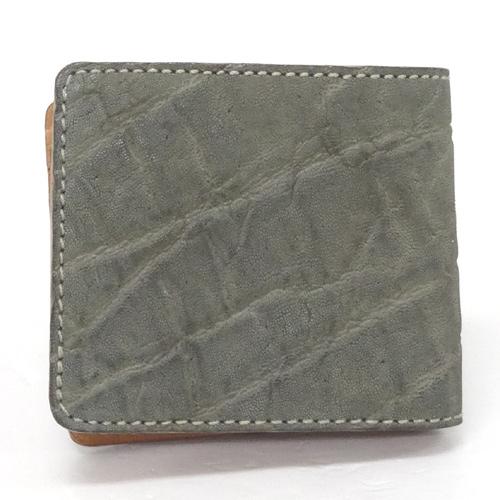KC'S ケーシーズ 二つ折り財布/カラー:グレー/レザー/アメカジ《財布/サイフ/ウォレット》アクセサリー\財布\メンズ