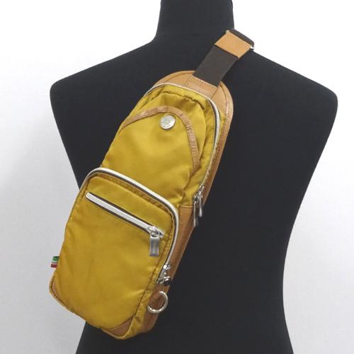 Orobianco オロビアンコ ボディーバッグ/カラー:マスタード《バッグ/かばん/鞄》アクセサリー\メンズバッグ\ウエスト・ボディバッグ