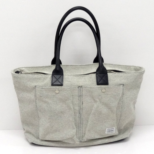 HEAD PORTER ヘッドポーター トートバッグ/カラー:グレー系《バッグ/かばん/鞄》アクセサリー\メンズバッグ\トートバッグ