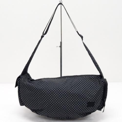 HEAD PORTER ヘッドポーター ショルダーバッグ/カラー:ブラック/ドット柄《バッグ/かばん/鞄》アクセサリー\レディースバッグ\ショルダーバッグ
