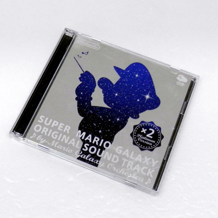 《帯付》SUPER MARIO GALAXY ORIGINAL SOUND TRACK Platinum Version./ゲームCD【山城店】