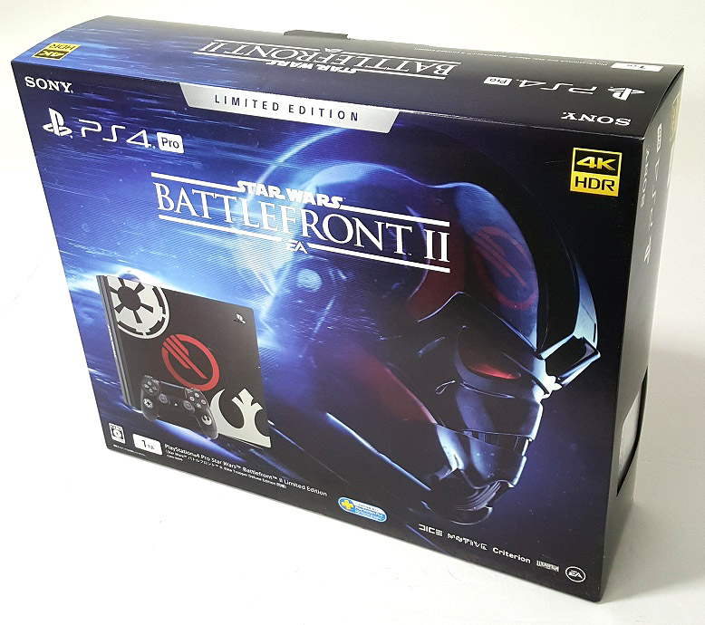 SONY PlayStation4 Pro 1TB Star Wars Battlefront II Limited Edition PS4 Pro プレイステーション4 Pro本体 CUHJ-10019 [46]