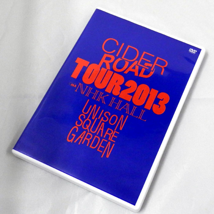 "UNISON SQUARE GARDEN  ""CIDER ROAD""TOUR 2013~4th album release tour ~@NHKホール/邦楽DVD【山城店】"