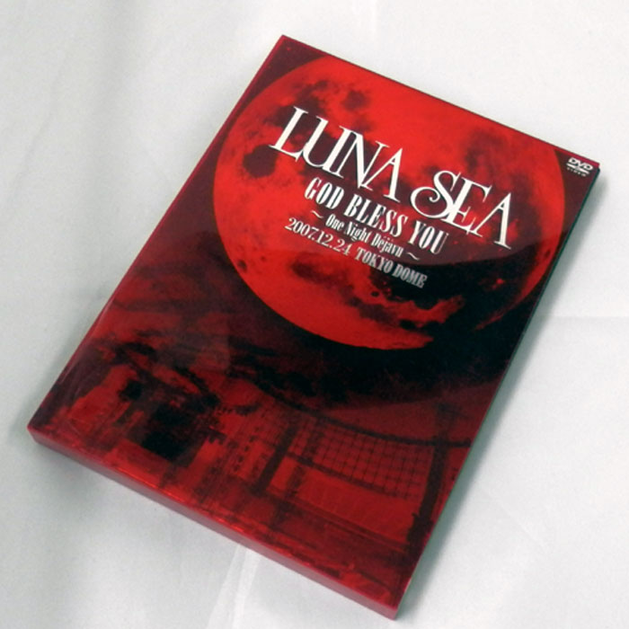 LUNA SEA GOD BLESS YOU~One Night Dejavu~2007.12.24 TOKYO DOME/邦楽DVD【山城店】