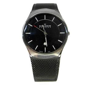 SKAGEN スカーゲン アナログ /メンズウォッチ/ 《クォーツ/腕時計》時計アクセサリー\時計\メンズ時計