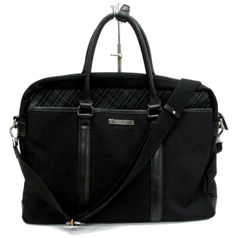 BURBERRY BLACK LABELバーバリー ブラックレーベル ブリーフケース・ビジネスバッグ/2way/ブラック《バッグ/かばん/鞄》アクセサリー\メンズバッグ\その他バッグ