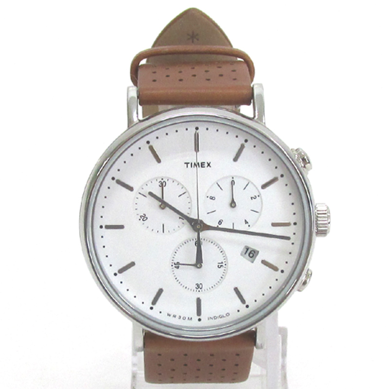 TIMEX タイメックス 腕時計/品番:TW2R26700/ブラウン/ウィークエンダー/クロノグラフ/レザー/クオーツ《腕時計/ウォッチ》アクセサリー\時計\メンズ時計