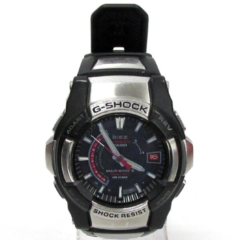 G-SHOCK ジーショック 腕時計/品番:GS-1200/カラー:ブラック/電波ソーラー/GIEZ/ジーズ《腕時計/ウォッチ》アクセサリー\時計\メンズ時計
