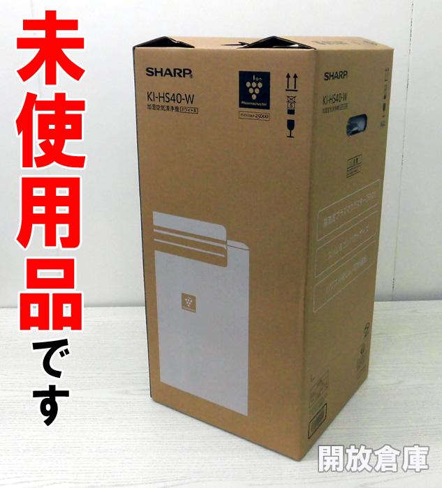 SHARP プラズマクラスター加湿空気清浄機 ホワイト KI-HS40-W 電化製品\その他