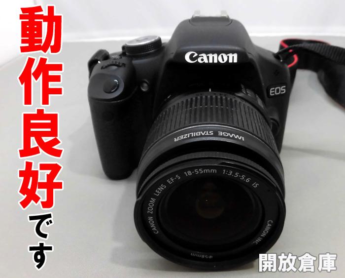 Canon EOS kiss X3 ダブルズームキット ブラック 電化製品\カメラ\デジカメ
