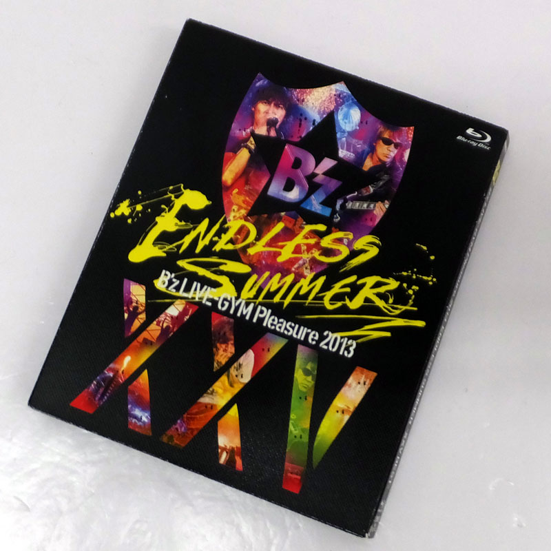 B'z LIVE-GYM Pleasure 2013 ENDLESS SUMMER-XXV BEST-[完全盤]/B'z /邦楽Blu-ray【山城店】