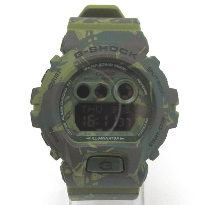 CASIO カシオ G-SHOCK ジーショック 腕時計/品番:GD-X6900HC/カラー:グリーン×迷彩/クオーツ《腕時計/ウォッチ》アクセサリー\時計\メンズ時計
