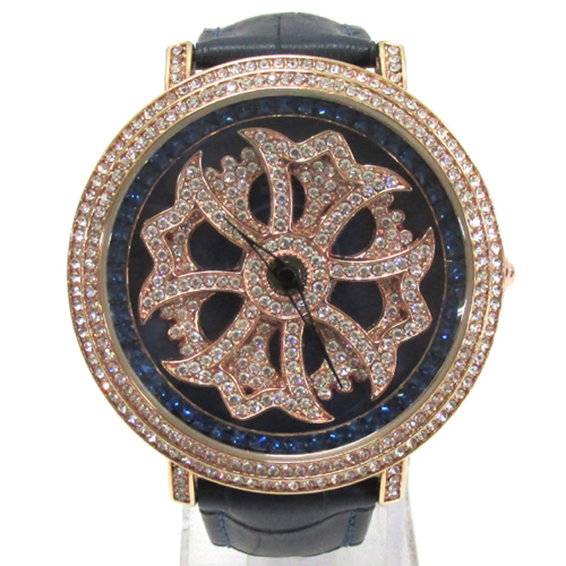 BROOKIANA ブルッキアーナ  腕時計/品番:BA-2310/カラー:ピンクゴールド×ネイビー/クオーツ《腕時計/ウォッチ》アクセサリー\時計\レディース時計