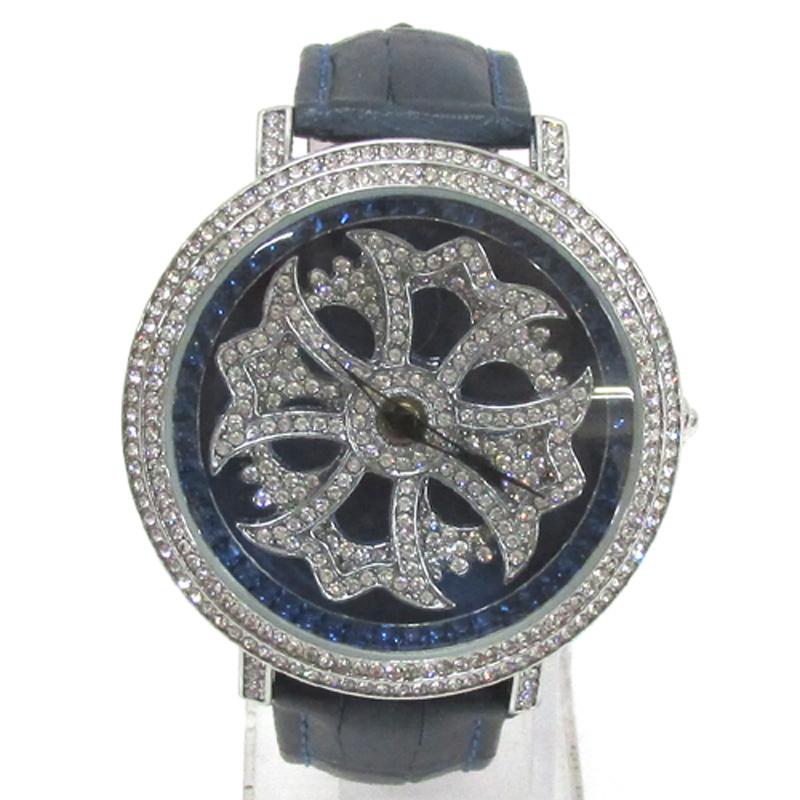 BROOKIANA ブルッキアーナ  腕時計/品番:BA-2310/カラー:シルバー×ネイビー/クオーツ《腕時計/ウォッチ》アクセサリー\時計\レディース時計