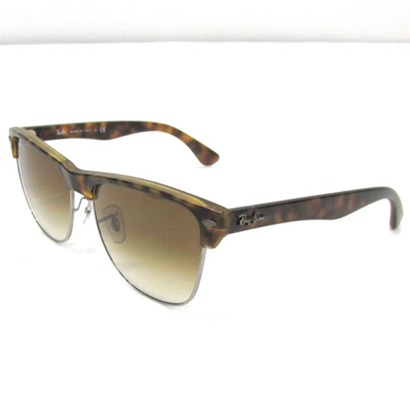 Ray Ban レイバン クラブマスターオーバーサイズド サングラス/RB4175/カラー:ブラウン/《眼鏡/サングラス》アクセサリー\サングラス\メンズ