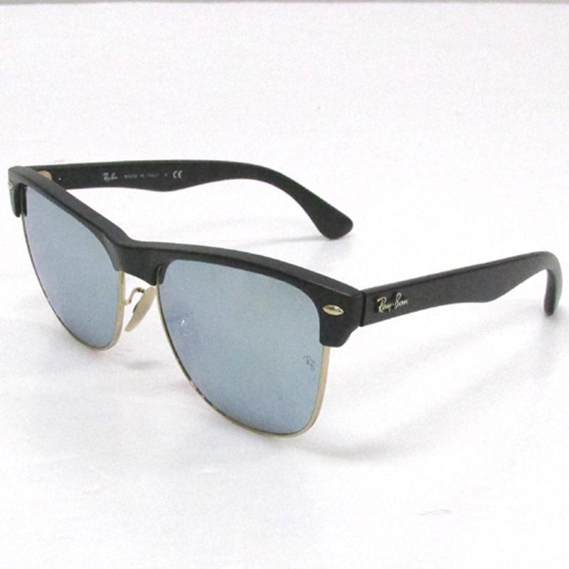 Ray Ban レイバン クラブマスター サングラス/RB4175/カラー:ブラック×ゴールド/ミラー《眼鏡/サングラス》アクセサリー\サングラス\メンズ