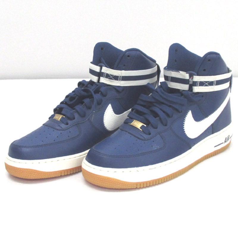 NIKE ナイキ AIR FORCE 1 HIGH 07 LIMITED EDITION FORICONS/サイズ:28cm/カラー:ブルー/スニーカー/靴 シューズ【山城店】