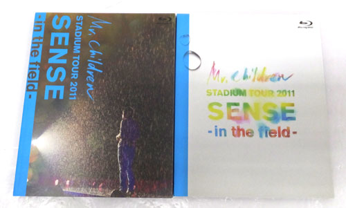 STADIUM TOUR 2011 SENSE -in the field- /Mr.Children/邦楽Blu-ray【山城店】