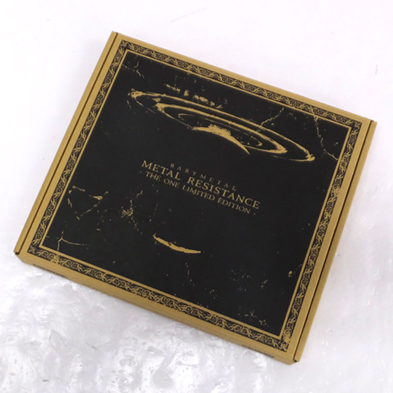 《THE ONE限定 》Metal Resistance- The One Limited Edition/BABYMETAL/女性アイドルBluray+CD 【山城店】