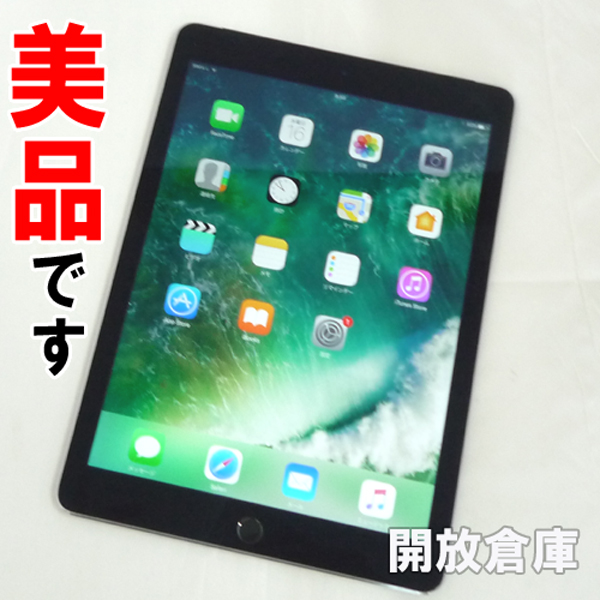 美品です au版 Apple iPad Air 2 Wi-Fi+Cellular 16GB スペースグレイ MGGX2J/A 【山城店】