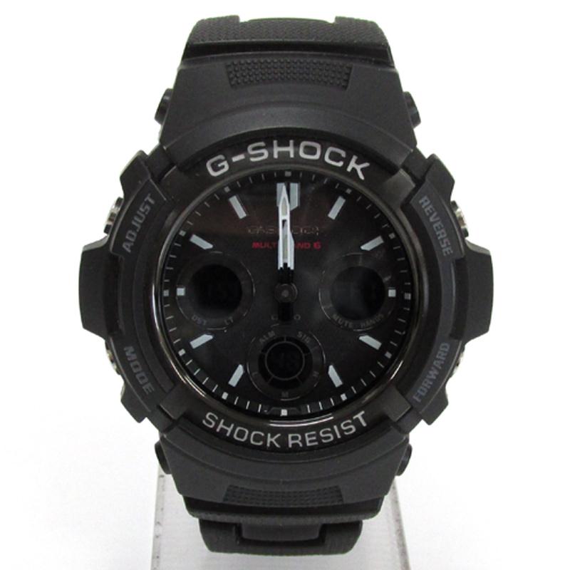 CASIO カシオ G-SHOCK ジーショック 腕時計/品番:AWG-M100SBC/ブラック/電波ソーラー/タフソーラー《腕時計/ウォッチ》アクセサリー\時計\メンズ時計