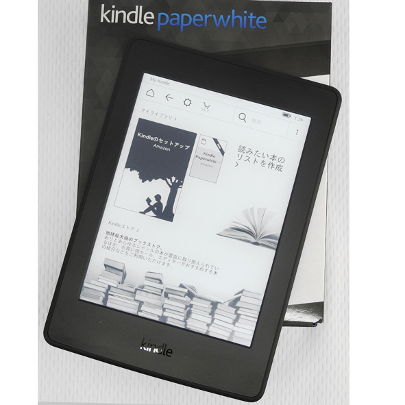 【中古】美品!!amazon Kindle Paperwhite 4GB 第7世代 2015/Wi-Fi【桜井店】