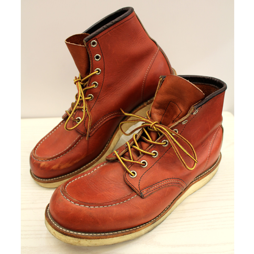 RED WING 8875 MOC TOE/レッド ウィング モックトゥアイリッシュセッター/Made in U.S.A.ブラウン/茶色系【桜井店】