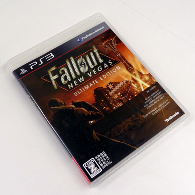 《CERO区分_Z》Fallout NEW VEGAS ULTIMATE EDITION(Z指定)/PS3 ソフト【山城店】