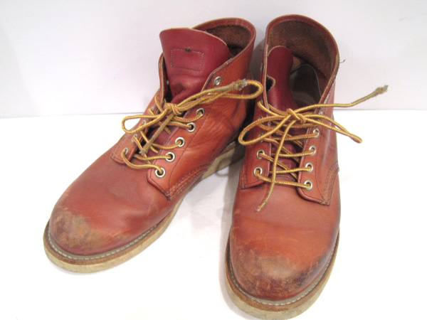 RED WING/レッドウィング 8166 6inch CLASSIC PLAIN TOE ブーツ ワーク 【福山店】