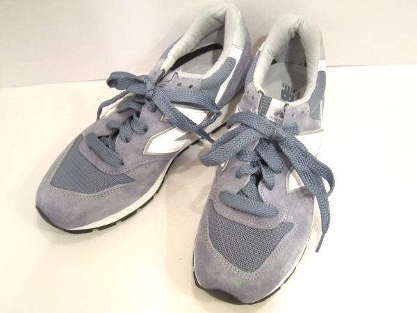 NEW BALANCE/ニューバランス M996CHG BLUE/SILVER MADE IN U.S.A. 【福山店】