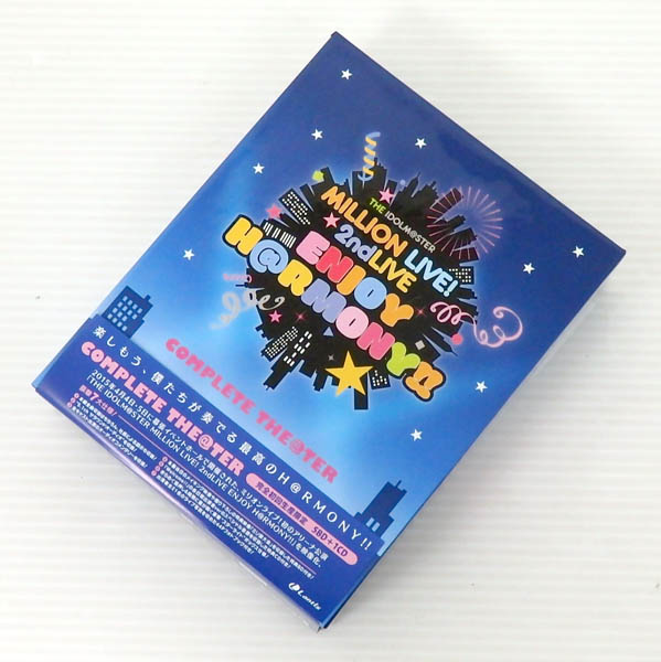 THE IDOLM@STER MILLION LIVE! 2ndLIVE ENJOY H@RMONY!! LIVE Blu-ray COMPLETE THE@TER【米子店】