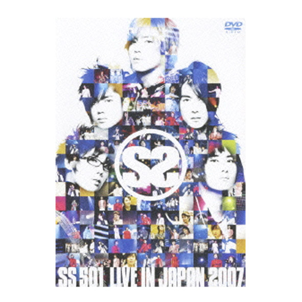 SS501/LIVE IN JAPAN 2007/韓国/PCBP-51899/3DISC/DVD【桜井店】