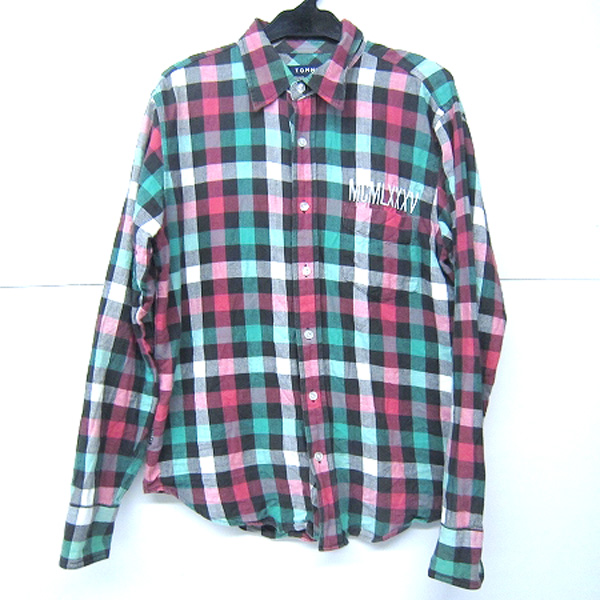 TOMMY/トミー 長袖 チェックシャツ 【福山店】