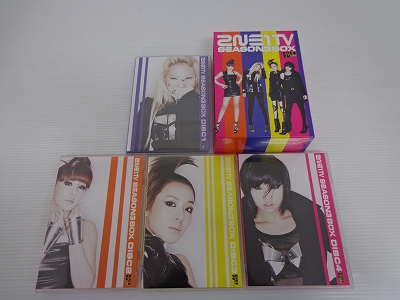 2NE1 TV SEASON 3 BOX / 2NE1[30]【米子店】