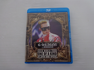 G-DRAGON 2013 WORLD TOUR ~ONE OF A KIND~ IN JAPAN DOME SPECIAL (Blu-ray Disc2枚組)  / [30]【米子店】