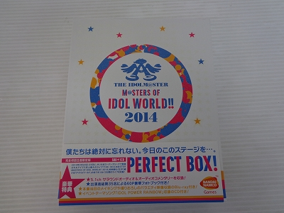 "THE IDOLM@STER M@STERS OF IDOL WORLD!! 2014""PERFECT BOX!"" (完全生産限定盤) / [30]【米子店】"