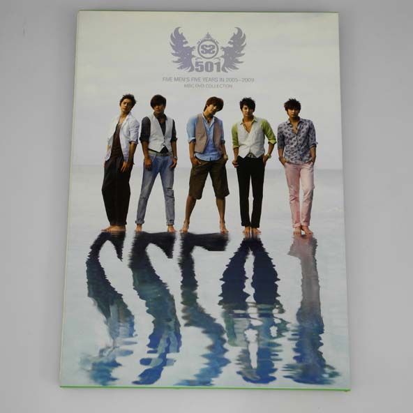 SS501  FIVE MEN'S FIVE YEARS IN 2005~2009 MBC COLLECTION DVD LIMITED EDITION /古本/写真集/DVD【桜井店】