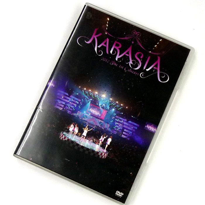 KARA 1st JAPAN TOUR KARASIA/洋楽アジア/DVD【山城店】