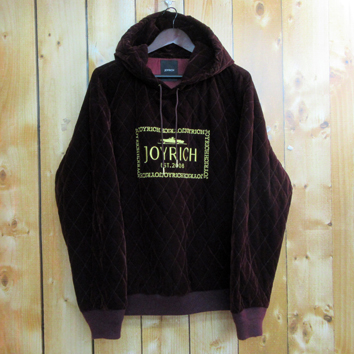 JOYRICH Classic Stamp Quilted Hoodie ジョイリッチ クラシック スタンプ キルテッド フーディー