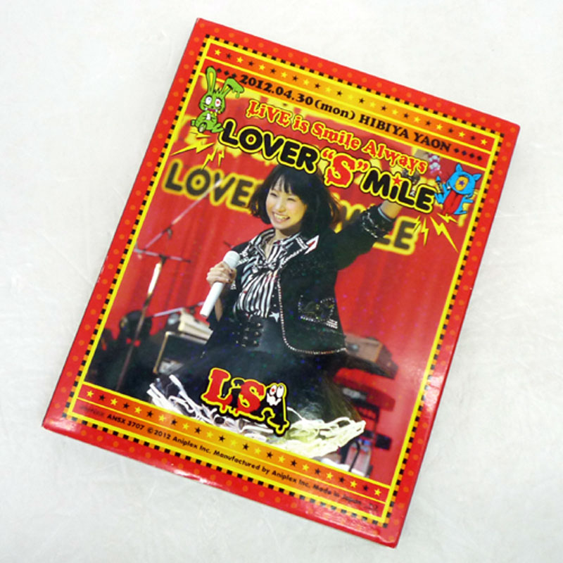 "LiSA LiVE is Smile Always ~LOVER""S""MiLE~in日比谷野外大音楽堂 / Blu-ray  【山城店】"