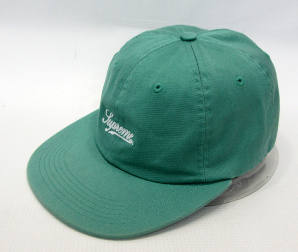 Supreme Script Logo Fitted 6-Panel シュプリーム スクリプトロゴ キャップ【アメ村店】