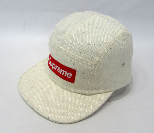 Supreme Sequins Camp Cap シュプリーム キャンプキャップ【アメ村店】