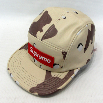 Supreme Leather Camp Cap シュプリーム レザー キャンプキャップ【アメ村店】