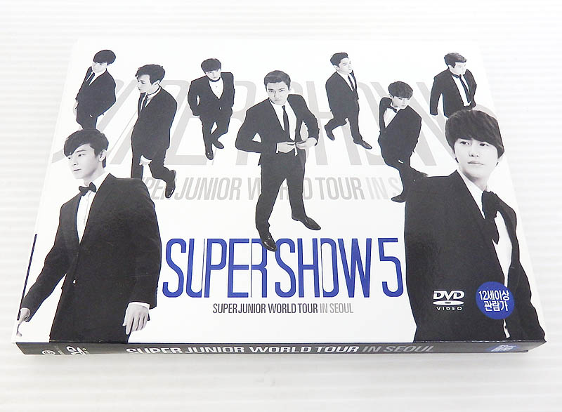 Super Junior World Tour in Seoul 'Super Show 5' (2DVD + フォトブック) (韓国版)【米子店】
