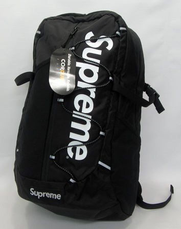 Supreme Backpack シュプリーム バックパック 17SS/Black/ブラック/黒/未使用品/半タグ付/Bag/バッグ/鞄/中古【アメ村店】